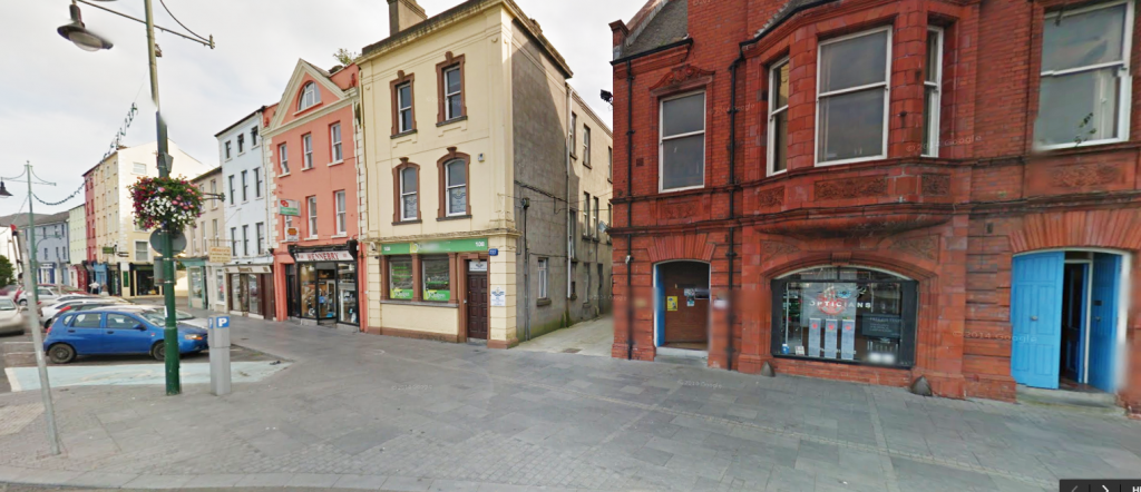 Major Opticians in Waterford shop front